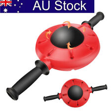 AU! 360°Gym Ab Fitness Wheel Roller Abdominal Waist Workout Exercise Equipment