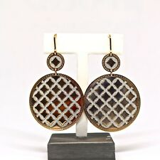 3294e15cb Rebecca Dual Large Circles Earrings in Rose Gold from Melrose Collection
