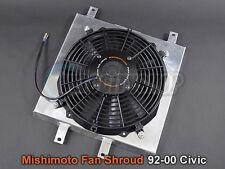 Mishimoto Radiator Fan Shroud Kit 92-00 Civic