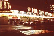 1970s Las Vegas Four Queens Casino Floor Slot Machines Lot VTG 35mm Color Slide