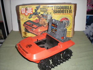 1974 GI Joe Adventure Team Fate of the Trouble Shooter Vehicle & Box /miss parts