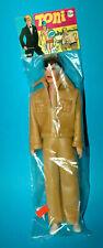 Toni 29 cm gay Doll full Leather atuendo Mode muñeca 1970er hong kong traje de cuero