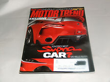 Motor Trend March 2014 Car Truck Vehicle Magazine Toyota's Next Supra FT-1 + Z06