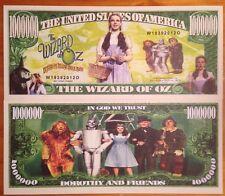 Wizard Of Oz Million Dollar Bill