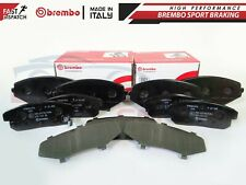 FOR MAZDA RX8 RX-8 2003-2008 FRONT REAR BREMBO BRAKE PADS SET P49034 P49035