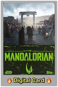 🔥 DIGITAL🔥 STAR WARS Trader 2021 MANDALORIAN Super Rare KINETIC SERIES 3 Card