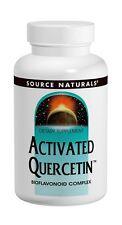 Source Naturals Activated Quercetin Bioflavanoid Complex 100 caps Allergy Relief