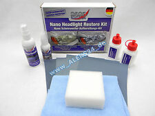 Protec faros pulimento tratamiento conjunto de nano politursatz headlight Repair
