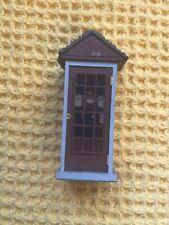 More details for vintage resin sir gilbert scott miniature 1920s telephone kiosk for railways