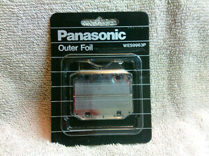 Panasonic Shaver WES9963P Outer Foil Replacement NEW WES 9963P NEW in Package