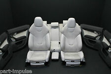 Audi S6 A6 4F Recaro Sportsitze Leder Sitze Ausstattung Sitzheizung MAL