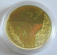 DR Kongo 10 Francs 2003 Victoria Falls Silber