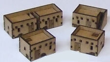 10mm Scale Adobe Village pack MDF Kit