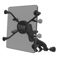 "RAM X-Grip Mount with Yoke Clamp Base for 7""-8"" Tablets"