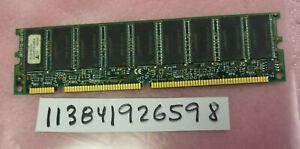 128MB SDR SD SDRAM  PC100 100 SYNCH DUAL RANK 18CHIPS  8X8 168PIN ECC UBDIMM