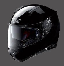 Nolan Motorradhelm N87 Classic schwarz glänzend Gr. M = 57/58 mit Sonnenblende
