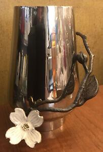 MICHAEL ARAM Stainless Steel Dogwood Bud Vase
