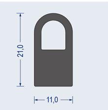 Dichtprofil Moosgummi Profil Dichtung Gummidichtung EPDM 21 x 11 mm, 1m=4,50€