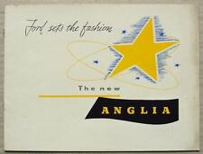 FORD ANGLIA Car Sales Brochure 1954-55 #PO.3599/1054/DOM