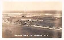 STANHOPE, PRINCE EDWARD ISLAND, CANADA ~ BEACH INN, REAL PHOTO PC used 1950