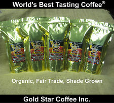 5 LB  * RARE ORIGINS * FAIR TRADE / ORGANIC CERTIFIED COFFEE COMBO SPECIAL