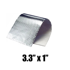 Motorcycle Race Track Fairing Exhaust Engine Heat Shield Self Adhesive Cover
