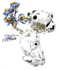 FORGET-ME-NOT KRIS BEAR CHARACTERS WITH FLOWERS 2019 SWAROVSKI CRYSTAL  5427993