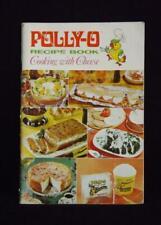 Polly-O Ricetta Libro 1968 Pizza Ciotoline Insalate Salse Pasta
