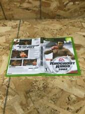 Knockout Kings 2002 (Microsoft Xbox, 2002) *Used*