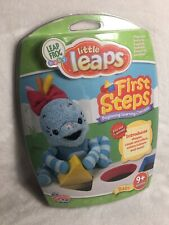 Leap Frog Baby Little Leaps First Steps Dvd Game 9 + Months Learn Shapes Colors