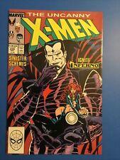 The Uncanny X-Men #239 1st Mr. Sinister cover Dec 1988 Marvel Comics