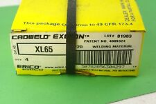 New listing New Erico Cadweld Xl65 Weld Material 4 Pieces Lot Of 5