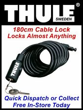 THULE 538 CABLE LOCK SECURE YOUR BIKE ON THE 591 ROOF MOUNTED CYCLE CARRIER