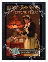 Historic Liebig Company's Peptone of Beef , c.1890 Advertising Postcard