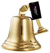 More details for buckingham solid brass large ship bell pub door last order  school dinner 7
