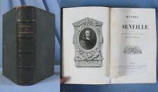 Œuvres de Pierre CORNEILLE / Furne éditeur en 1866 / Belles Illustrations