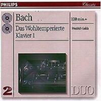 FRIEDRICH GULDA - J.S. BACH-DAS WOHLTEMPERIERTE KLAVIER 1; 2 CD  48 TRACKS NEW+