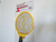 BATTERY OPERATED ELECTRONIC FLY SWATTER KILLS BUGS INSTANTLY INDOOR/OUTDOOR USE*