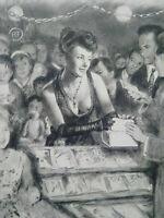 Rare curiosa Paul-Emile Bécat gravure parfait état estampe Art Deco La Garçonne
