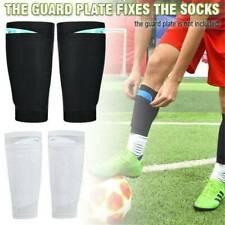 Kid Adult Sport Football Shin Guard Pad Socks Soft Stretch Calf Sleeves Cool New