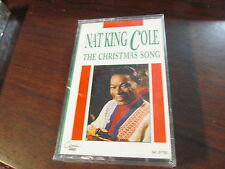 NAT KING COLE THE CHRISTMS SONG CASSETTE NEW/SEALED 1992