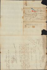 PRE PHILATELY 1798 FRANCE ITALIAN REVOLUTIONARY ARMY EIGHTH YEAR BRAND MG