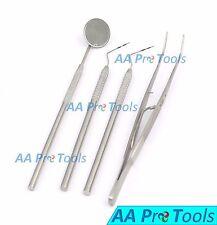 AA Pro: College Tweezers And Medical Ear Cleaner Dental Kit Mirror Handle