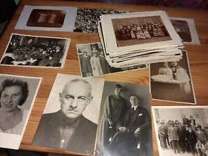 Ca.150 alte Fotopostkarten ca. 1900 mit Brosche.