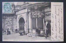 Turkey 1910 French Post Office Cancel Constantinople Fountain Mosquee Osmanie