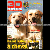 30 MDA N°214 CHAT DE RACE BURMESE CHIEN LABRADOR STEVE BLOOM 2004