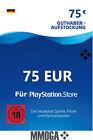 75€ PSN Card Playstation Network Code - 75 Euro PS5 PS4 PS3 PS Vita Guthaben DE