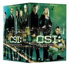 C.S.I. 1-15 + FINALE (2000-2015): COMPLETE Original CSI Series Las Vegas DVD R1