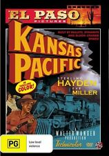 Kansas Pacific (DVD, 2011) El Paso *New & Sealed* Region 4