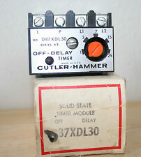 D87XDL30 Cutler Hammer  Solid State Timer Module, Off Delay